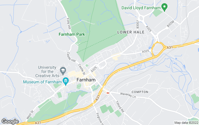 Map for Marlows Lettings & Property Management, Farnham