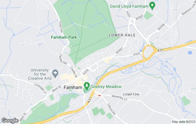 Map for LK Lettings Co, Farnham
