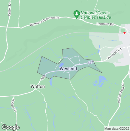 Map of property in Westcott