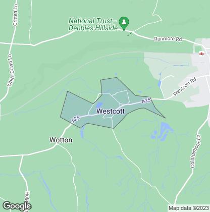 Map of property in Westcott