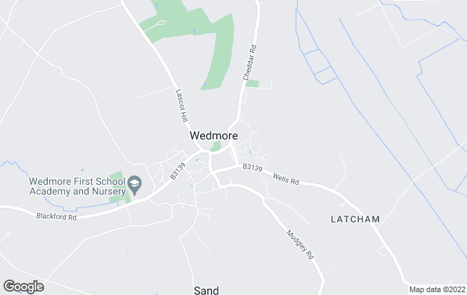 Map for CJ Hole, Wedmore