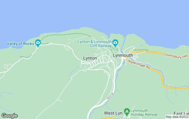 Map for Bond Oxborough Phillips, Lynton
