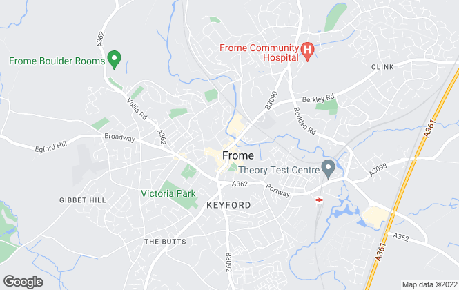 Map for McAllisters, Frome