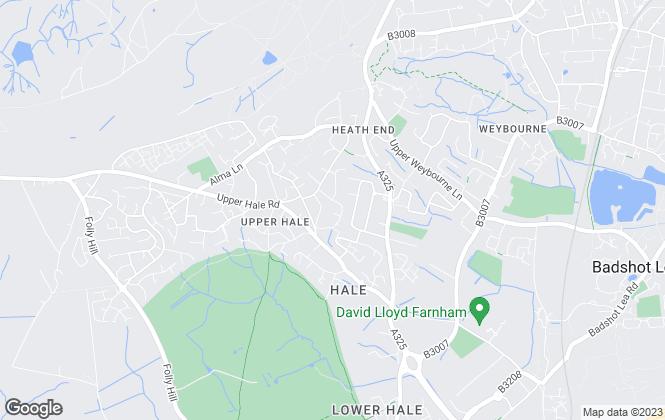 Map for Kingswood Lettings Ltd, Farnham