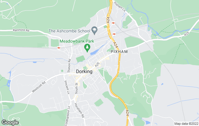 Map for Gascoigne-Pees , Dorking