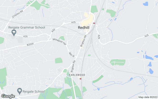 Map for Choices, Redhill