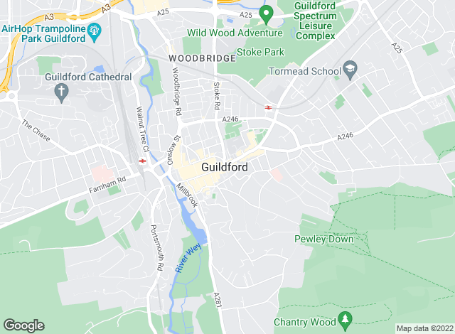Map for Mann Countrywide, Guildford