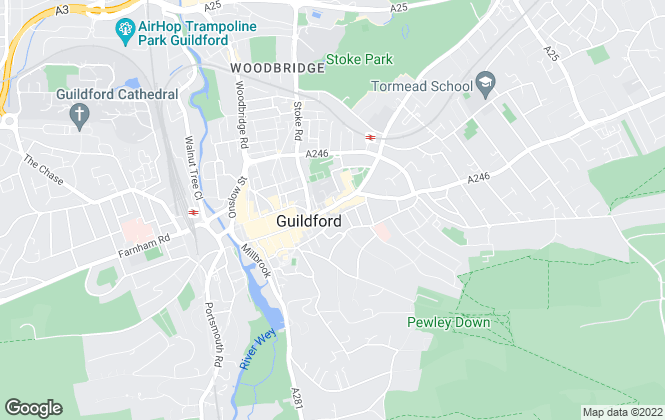 Map for Strutt & Parker, Guildford