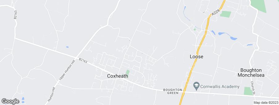 Map for Westerhill Homes Ltd