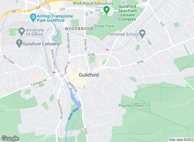 Map for Savills New Homes, Guildford