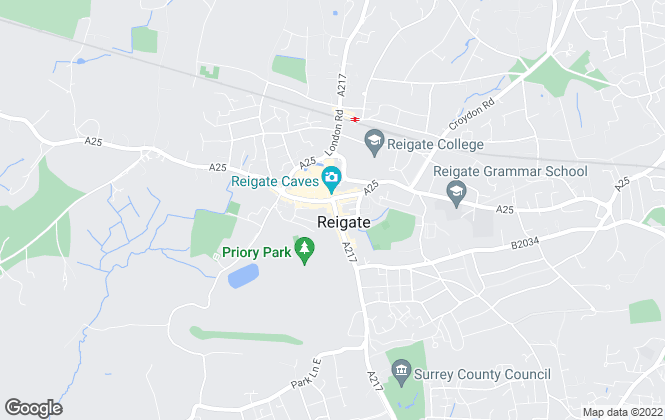 Map for Leaders, Reigate