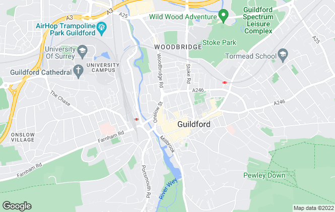 Map for Lambert Smith Hampton Group Limited, Guildford Office 2