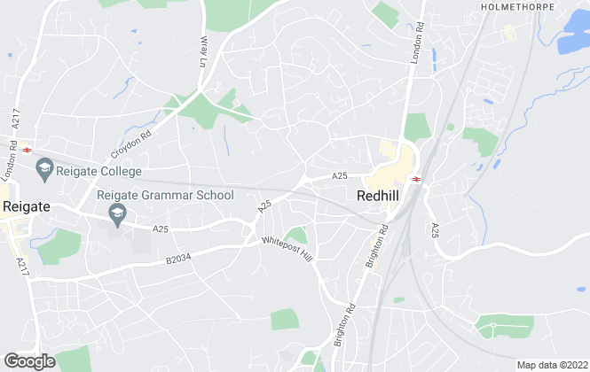 Map for Gatwick Properties, Redhill