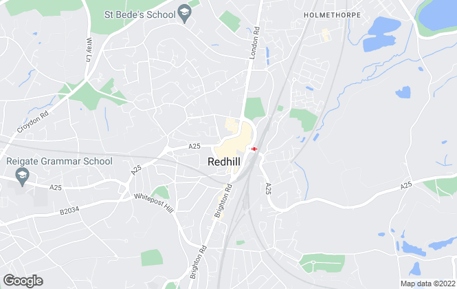 Map for Connells, Redhill