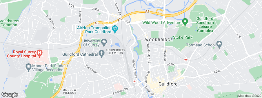 Map for Bellway Homes (South London)