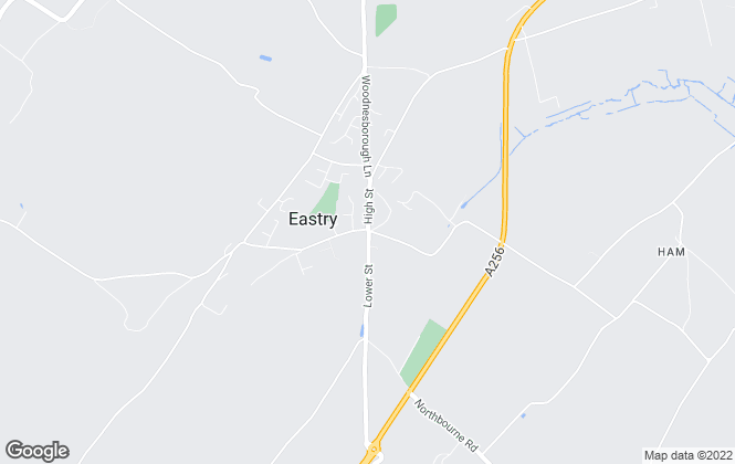 Map for Taylor Gurney, Eastry