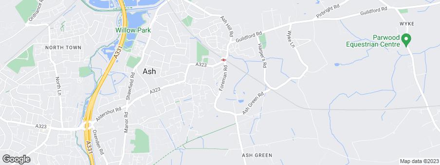 Map for Thakeham