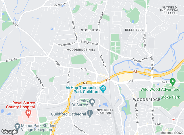 Map for Hipps Estate Agents Ltd, Guildford