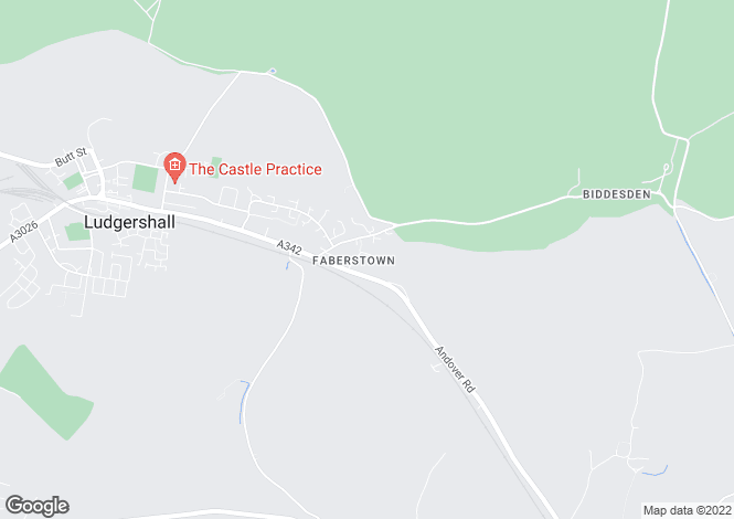 Map for Pretoria Road, Faberstown, Ludgershall