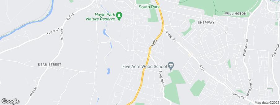 Map for Millwood Designer Homes