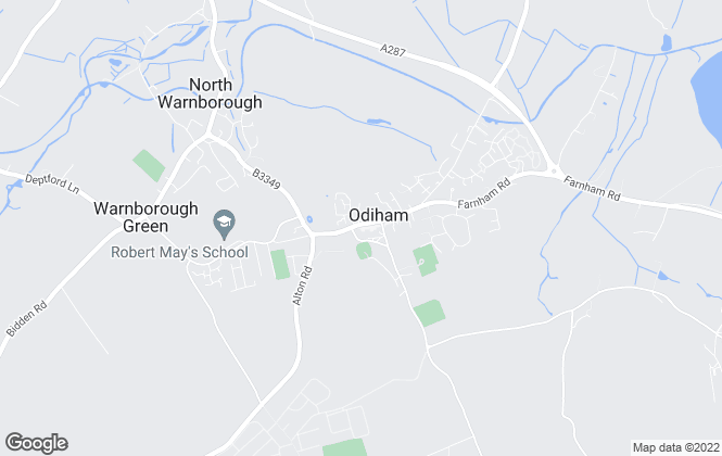 Map for McCarthy Holden, Odiham
