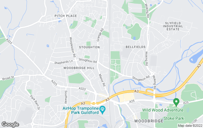 Map for Buttercup Lettings, Guildford
