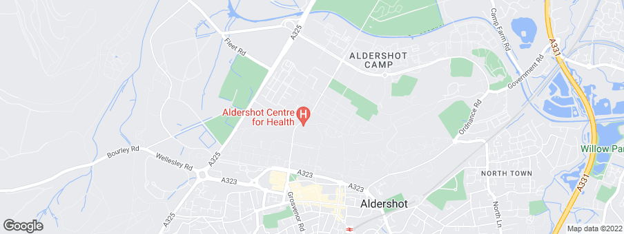 Map for Ashberry Homes (Thames Valley)