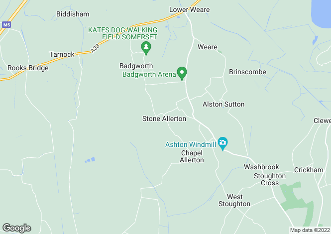 Map for STONE ALLERTON, NEAR WEDMORE