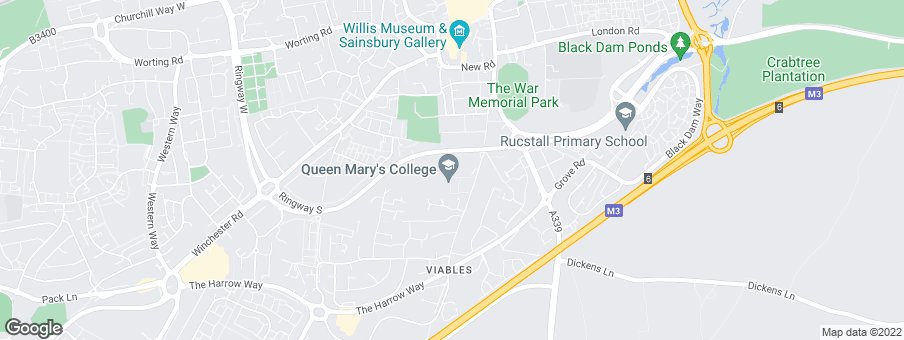 Map for Kirkby Homes