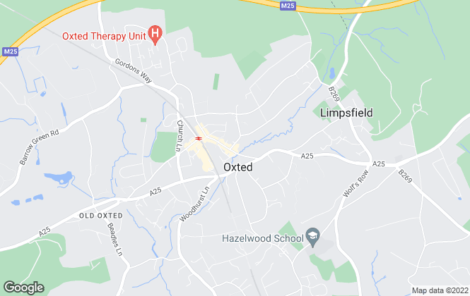 Map for JPA Commercial Property Consultants, Oxted