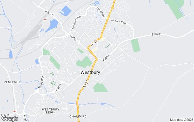 Map for Allen & Harris, Westbury