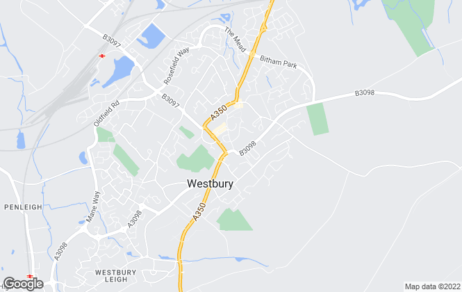 Map for Sandoes, Westbury
