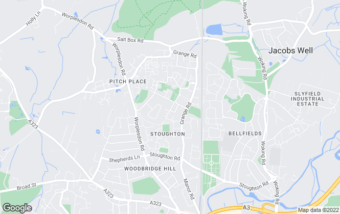 Map for Bruton Knowles , Guildford