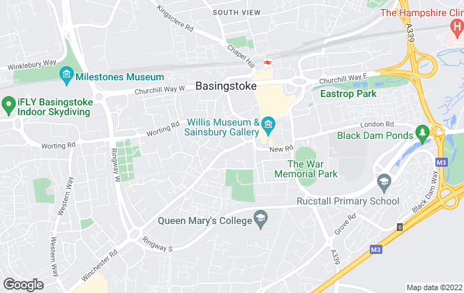 Map for London Clancy Property Consultants Ltd, Basingstoke