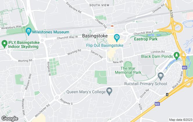 Map for London Clancy Property Consultants Ltd, Basingstoke