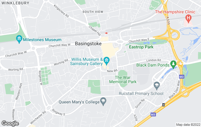 Map for YOUR MOVE, Basingstoke