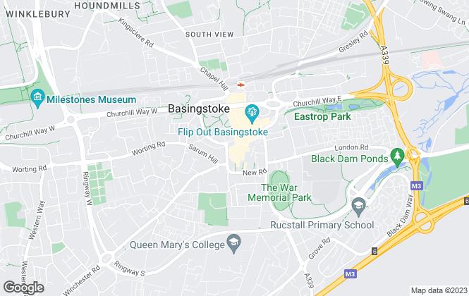 Map for Charlton Grace, Basingstoke