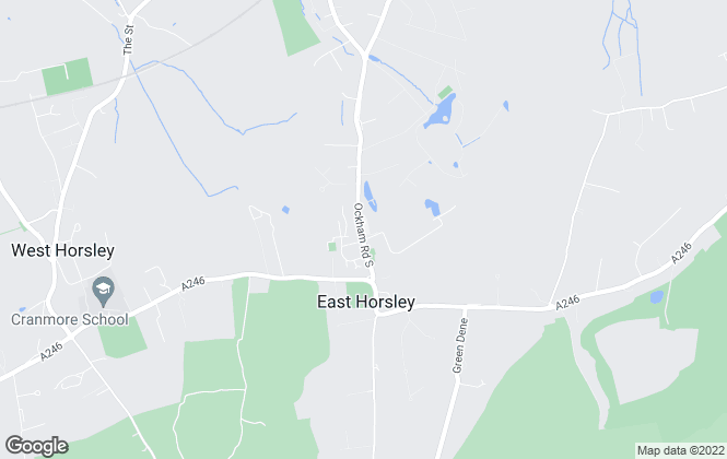 Map for Curchods Estate Agents, East Horsley