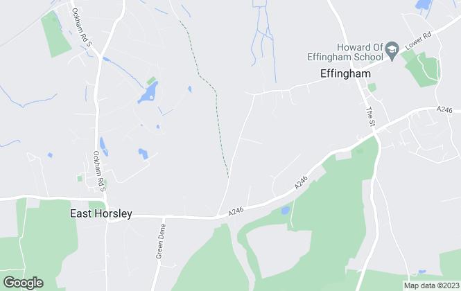 Map for Elizabeth Hunt Associates, Effingham