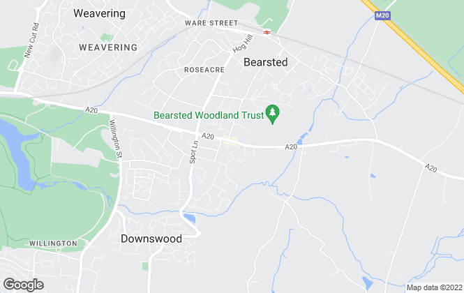 Map for Ward & Partners, Bearsted