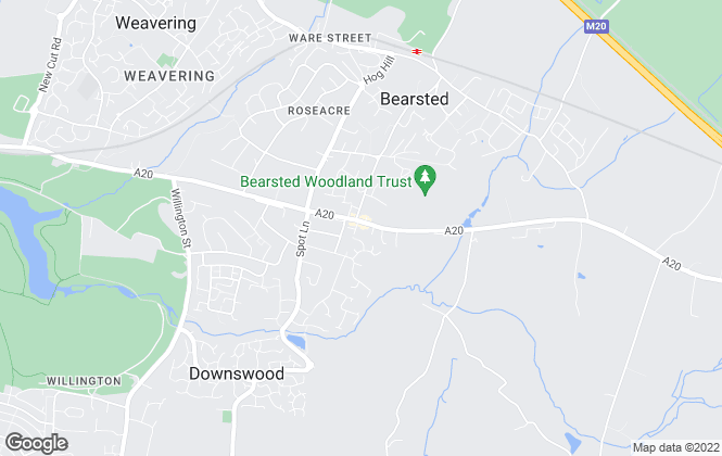 Map for Your Move , Bearsted