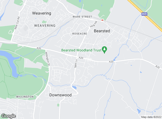 Map for Page & Wells, Bearsted