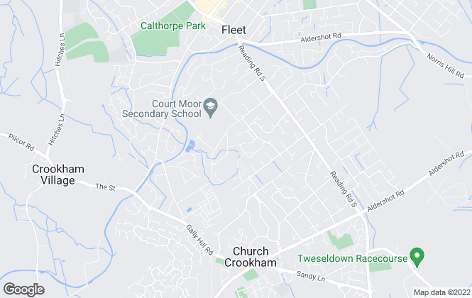 Map for Check 4 Houses, Hants/Surrey/Berks