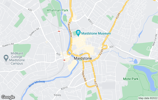 Map for Just Rent, Maidstone