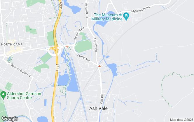 Map for Ludemans, Hants/Surrey/Berks