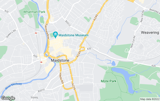 Map for Sibley Pares Chartered Surveyors, Maidstone