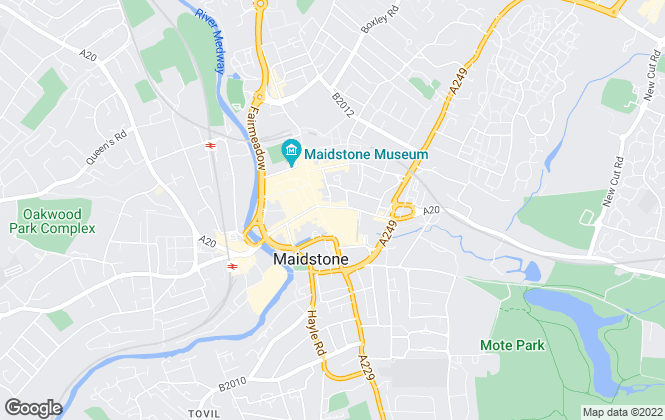 Map for YOUR MOVE, Maidstone