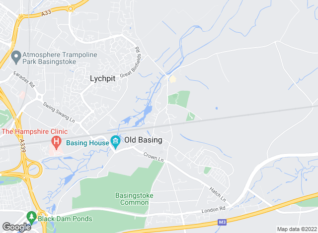 Map for All Aspects Letting Services Ltd, Basingstoke
