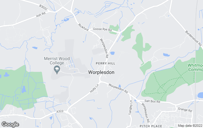 Map for Perry Hill Chartered Surveyors, Surrey