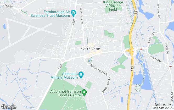 Map for Peepal Estate Agents, Farnborough